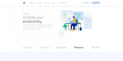 Simply - Simple Responsive Saas Landing Page