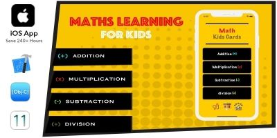 Math Learner For Kids iOS App OBJ C