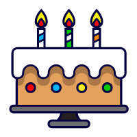 20 Birthday Color