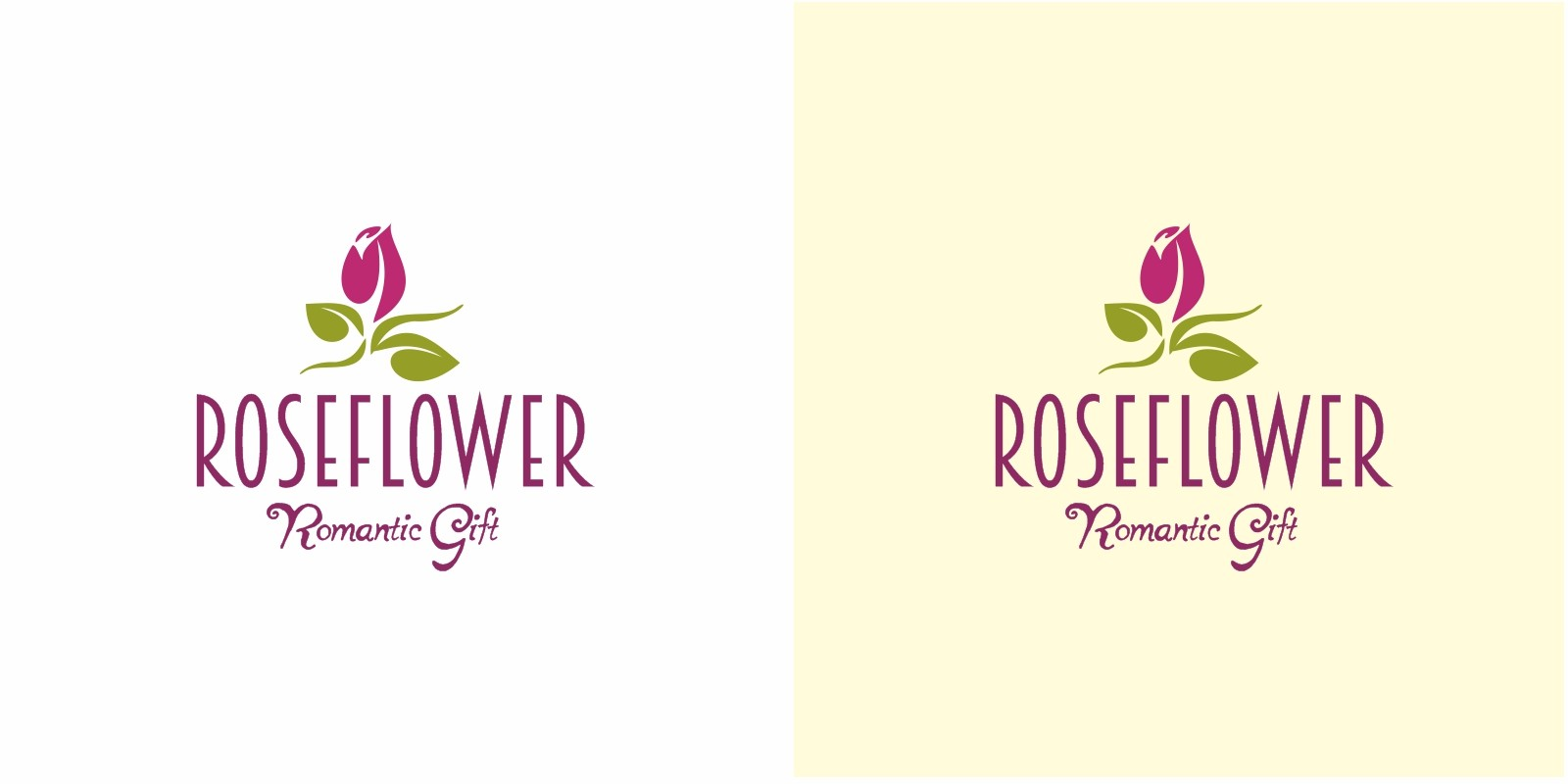 Rose Flower Logo