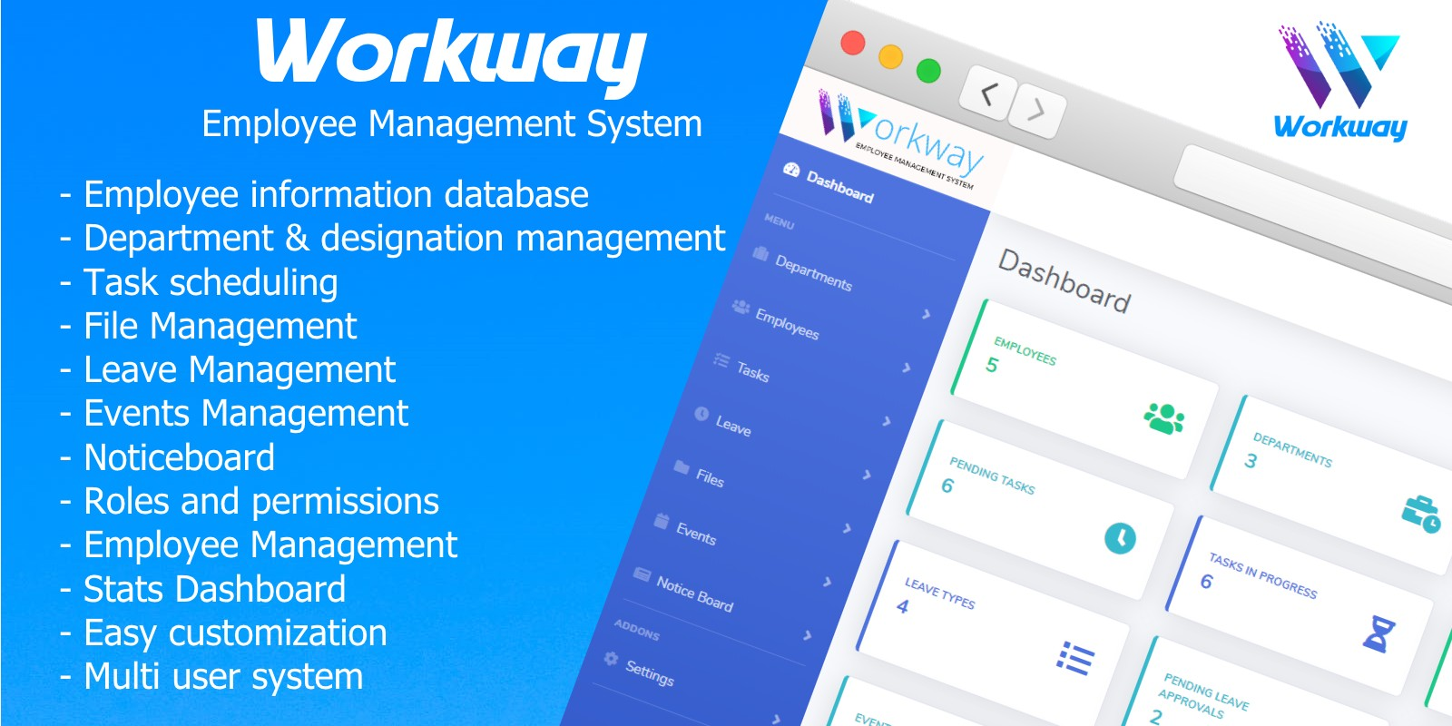Workway - Employee Management System