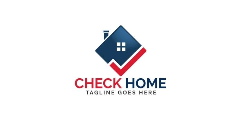 Check Home Logo Design