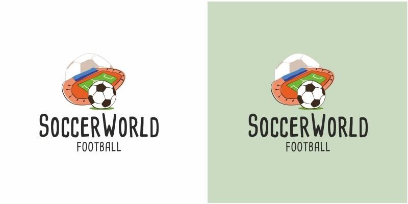 Soccer World Football Logo