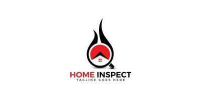 Home Inspection Logo Design