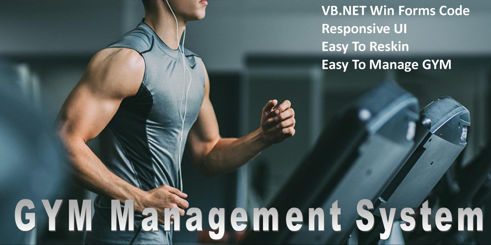 Gym Management System - VB.NET Win Forms