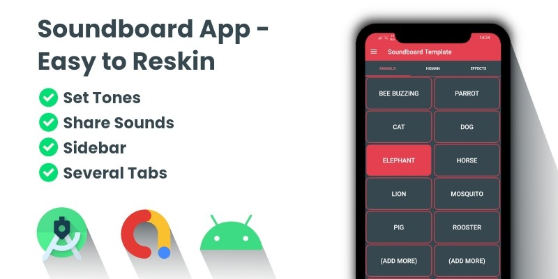 Soundboard Template - Android Source Code