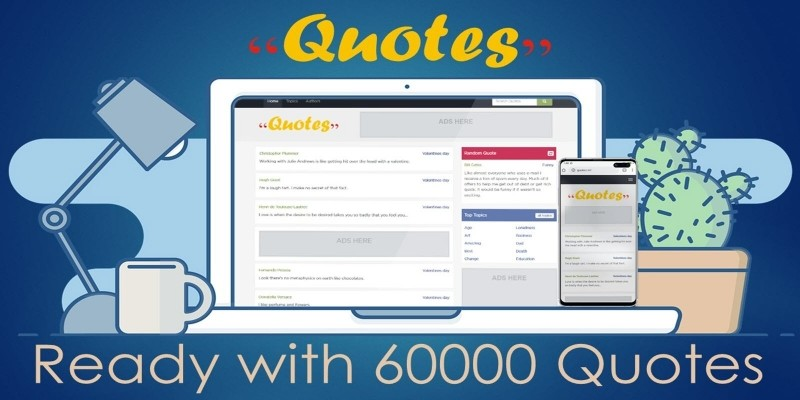 Quotes Website PHP Script