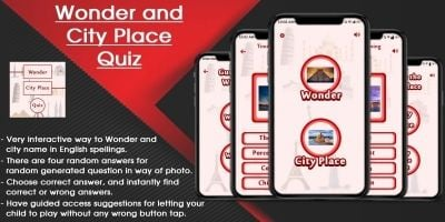 Wonder And City Place Quiz iOS SWIFT