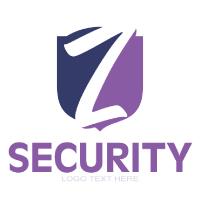 Z Letter Logo In Shield