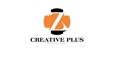 Z Letter Logo In Plus