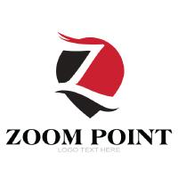 Z Letter logo In Pin