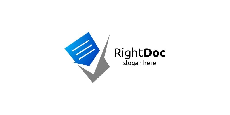 Document Sheets Logo Template