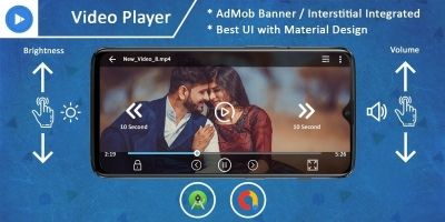 Max Video Player - Android App Source Code