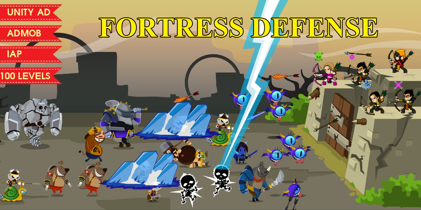 Fortress Defence - Unity Source Code