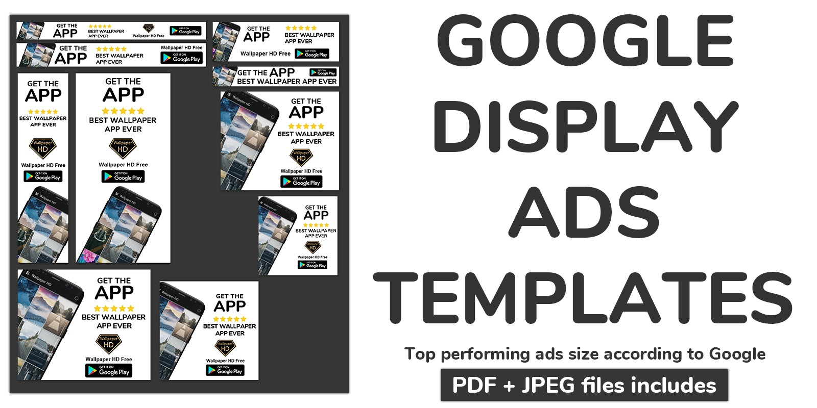 Google Display Ads Template