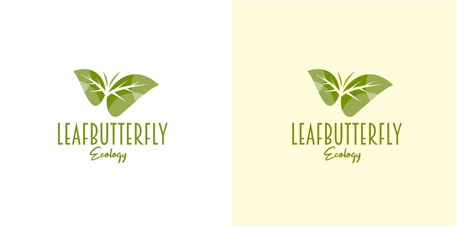 Leaf Butterfly Logo