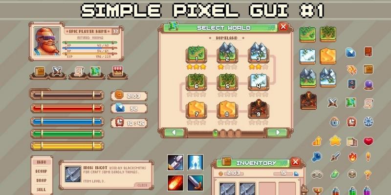 Simple Pixel Gui 1