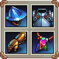RPG Pixel Equipment Icons 1