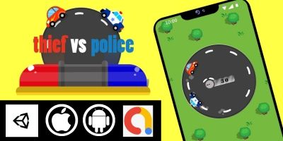 Thief vs Police - Unity Complete Project