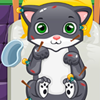 Sick Cat Doctor Treatment Unity Source Code
