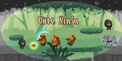 Cute Ninja - Unity Complete Project