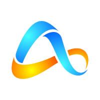 Digital Letter A Logo Design