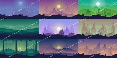 2D  Game Backgrounds