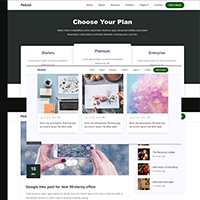 Expertly Beautiful Landing Page Template