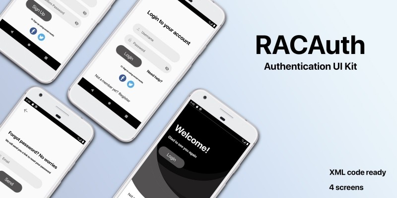 RACAuth - Android Authentication UI Kit