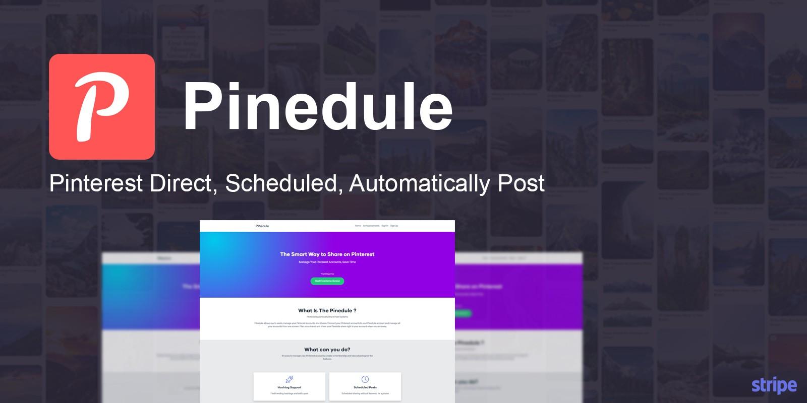 Pinedule - Pinterest Auto Post Script