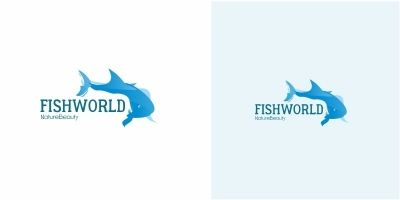 Fish World Logo