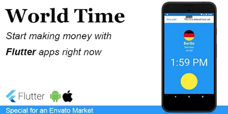 World Time - Flutter Mobile Application