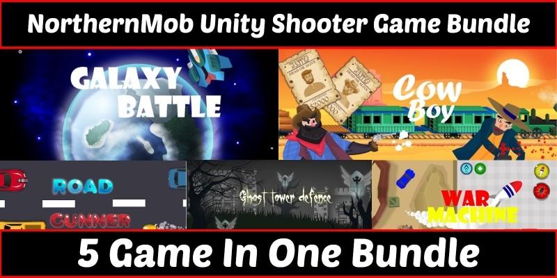 Unity Shooter Bundles - 5 Games