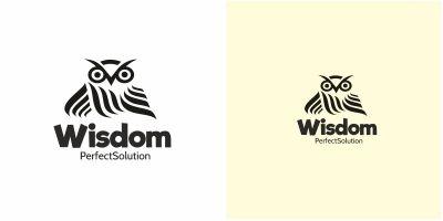 Owl Wisdom Logo
