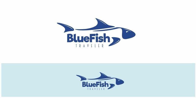 Blue Fish Logo