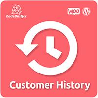 WooCommerce Customer History Plugin