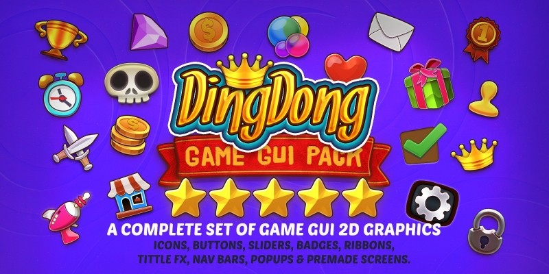 Dingdong - Game GUI Pack