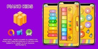 Piano Kids - Buildbox Template