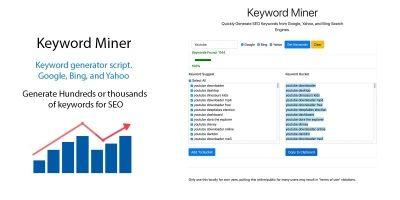 Keyword Miner Keywords Generator Script