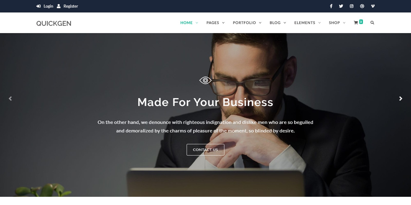 Quickgen - HTML Template