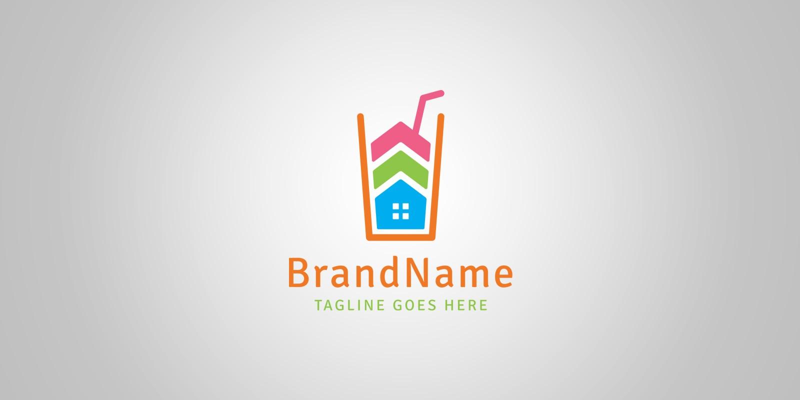 Juice House Logo Template