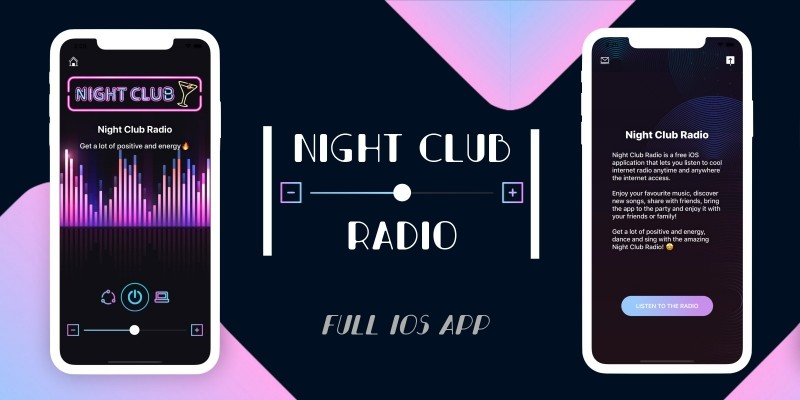 Night Club Radio - Full iOS Application
