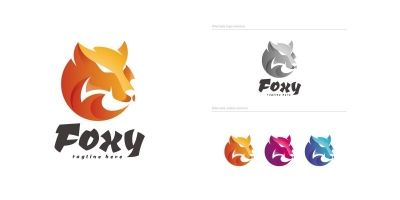 Foxy - Logo Template