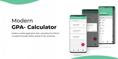 Simple GPA-calculator - Android App Template