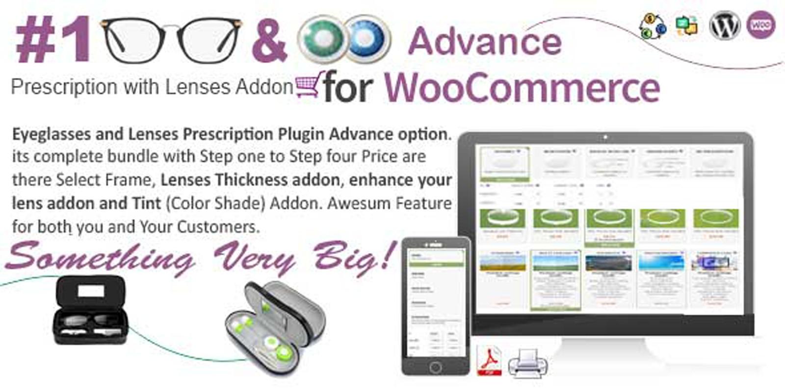 WooCommerce Eyeglasses And Lenses  Advanced