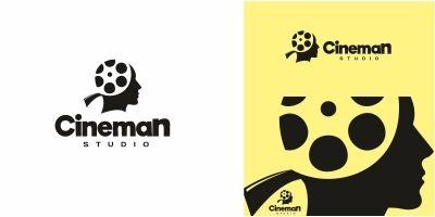 Cinema Man Logo