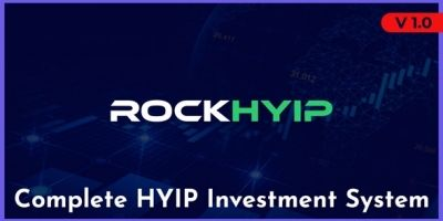 RockHYIP - Complete HYIP Investment System
