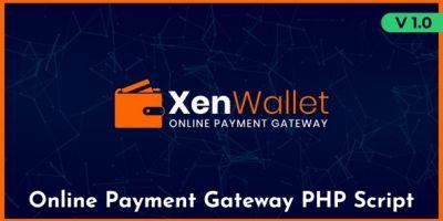 XenWallet - Online Payment Gateway Wallet Script