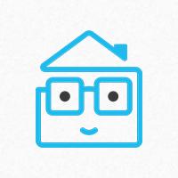 Geek House Logo Template