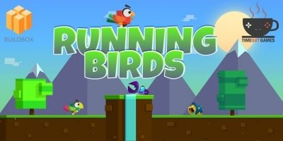 Running Birds - Full Buildbox Game
